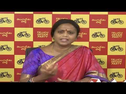 Panchumarti Anuradha Pressmeet at Vijayawada   ABN Telugu