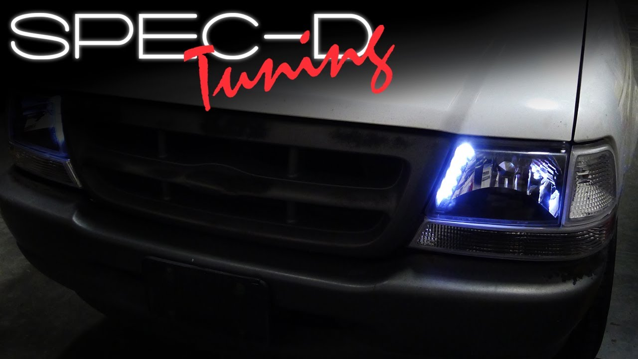 Specdtuning Installation Video 1998 2000 Ford Ranger Led