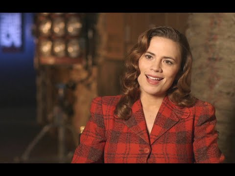 Marvel One-Shot: Agent Carter - Hayley Atwell Interview (HD) Marvel