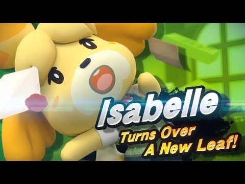 ISABELLE IN SMASH BROS ULTIMATE (Alpharad's Reaction)