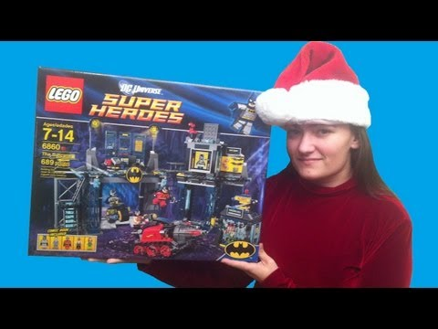 LEGO 6860 The Batcave 2012 LEGO Batman DC Universe Super Heroes Review