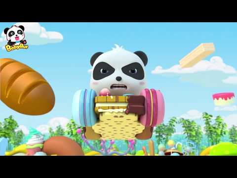 키키의 냠냠자동차! 무서운 음식 제조기! 키키묘묘 3D생활동화 베이비버스 인기동화