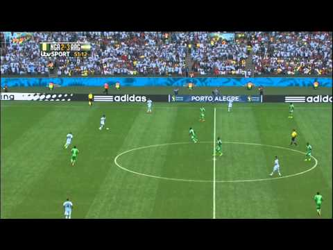 Nigeria Argentina 2014 World Cup Full Game ITV
