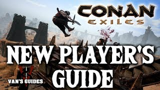 Conan Exiles Beginner's Guide #1 - First 30 Minutes of Gameplay