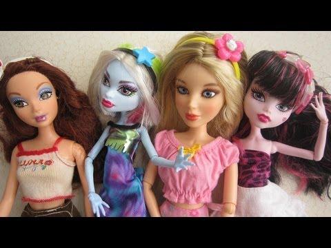 Episodio 667- Cómo hacer diademas para Muñecas Monster High, Barbie, Liv &