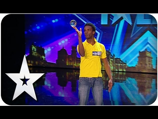 Got Talent Portugal - Luis Reis (malabarismo de contacto e diablo).