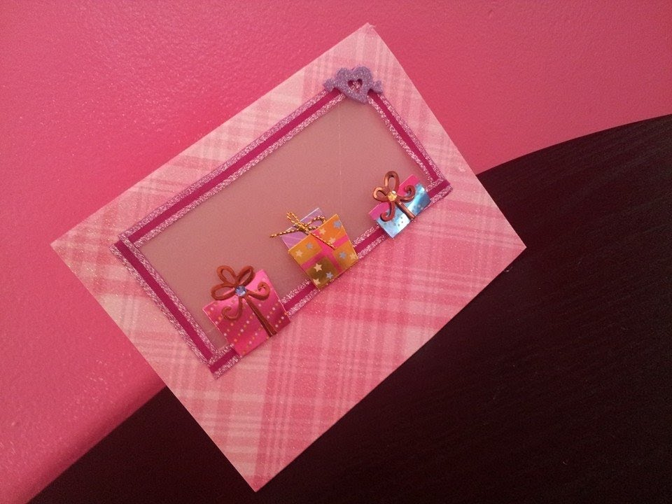 Tarjetas de cumple anos para ninos pin postales web - Como hacer una felicitacion de navidad original ...