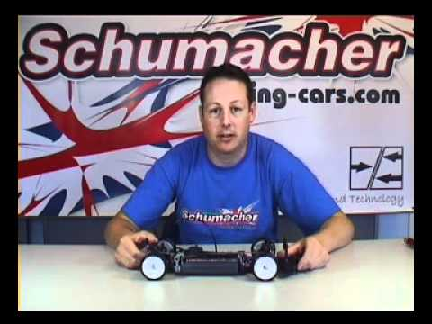 Schumacher Mi4 detailed set up changes with Chris Grainger