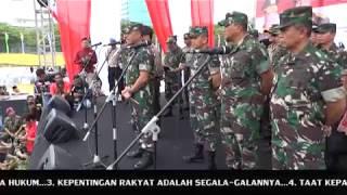 """Download Lagu Korem 022/PT """"Indonesia Aman Dan Maju Karena Soliditas TNI dan Polri"""" Gratis STAFABAND"""