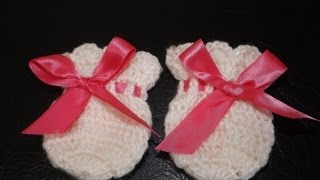 Crochet Guantesitos para Bebe