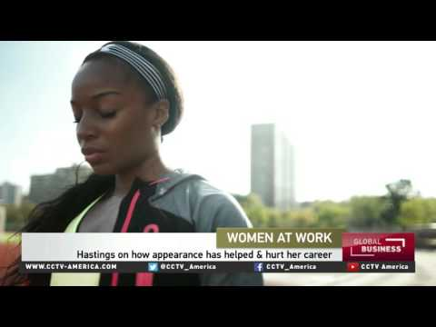 Olympic gold medalist Natasha Hastings on women in sport