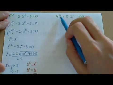 Cambio De Base En Ecuaciones Exponenciales