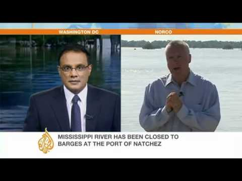 Coast Guard reopens Mississippi shipping lane - Americas - Al Jazeera English.flv