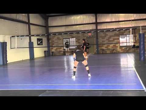 Amanda Karan Volleyball Skills Video (Libero, 2014)