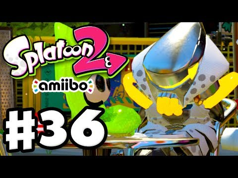 Splatoon 2 - Gameplay Walkthrough Part 36 - Original Amiibo Power Gear! (Nintendo Switch)