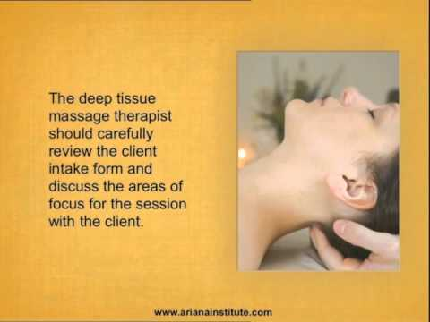 Deep Tissue Massage  Upper Body  Podcast