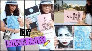 DIY Notebook Covers (Novel cover inspired +more)