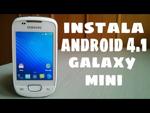 Como instalar Android 4.1.2 en Galaxy Mini