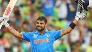 Virat Kohli 107 Runs Against Pakistan world cup 2015