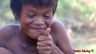 Primitive Technology - Eating delicious - Awesome cooking fish in forest