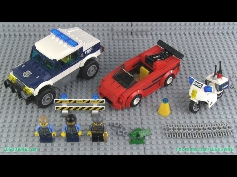 LEGO City High Speed Chase 60007 build & review!