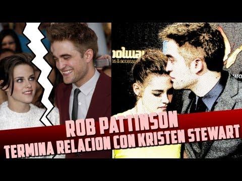 Rob Pattinson Termina Relacion Con Kristen Stewart?!