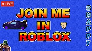 Join me in ROBLOX!   Playing Games on Stream!   🔴 LIVE