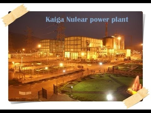 Nuclear energy production and nuclear power plants in india