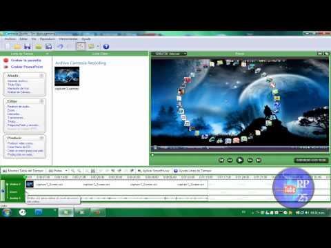 Como hacer videos sin las barras negras de los lados y en 720p Camtasia studio Respuesta a un suscriber