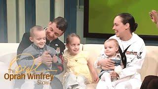 Oprah Reunites a Navy Mom With Her Family | The Oprah Winfrey Show | Oprah Winfrey Network