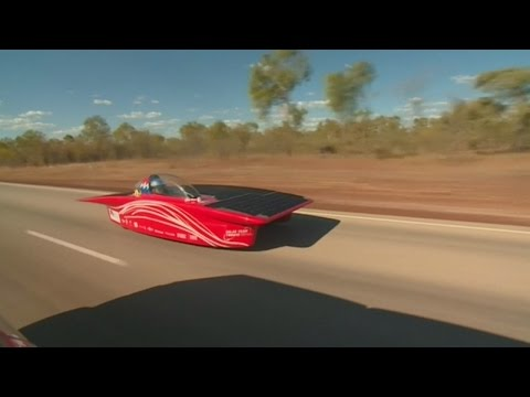 World's biggest solar car race underway in Australia