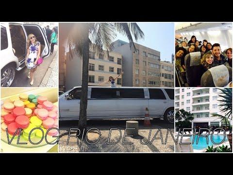 ♡ VLOG: Amigos, Limousine, Copacabana Palace, presos no aeroporto e muito mais!