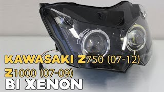 Kawasaki Z750 (07-12) Z1000 (07-09) Bi xenon projector, run both lights