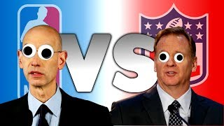 Who is Better Commissioner: NFL Roger Goodell vs NBA Adam Silver