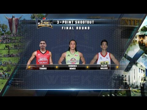 3-Point Shootout Final Round | PBA All-Star 2017