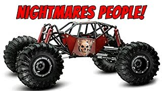 GMADE R1 RC Rock Buggy kit contents and Freaky Faces