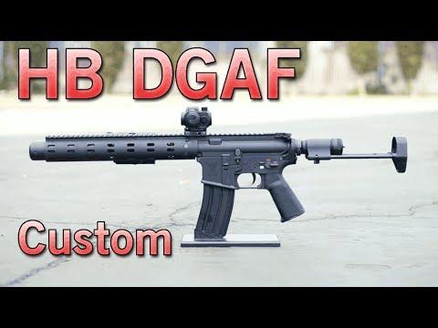 HB DGAF New Extreme Custom Armory Airsoft Gun   Airsoft GI