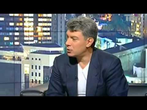 Борис Немцов критикует Путина в интервью 2015. О Путине, коррупции и прочее