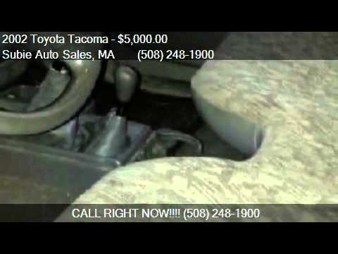 2002 Toyota Tacoma 4WD for sale in CHARLTON, MA 01507 at Sub