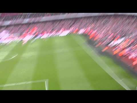 ArsenalvWest Brom Wilshere wonder goal fan view