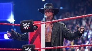"The Undertaker Returns With New Theme  ""In The Air Tonight"" (Kayfabe Entrance)"