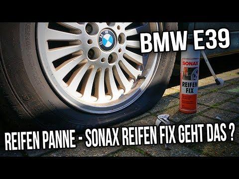 BMW E39 - Reifen Panne - Sonax Reifen Fix Geht das ?