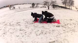GoPro: Airbed on Snow