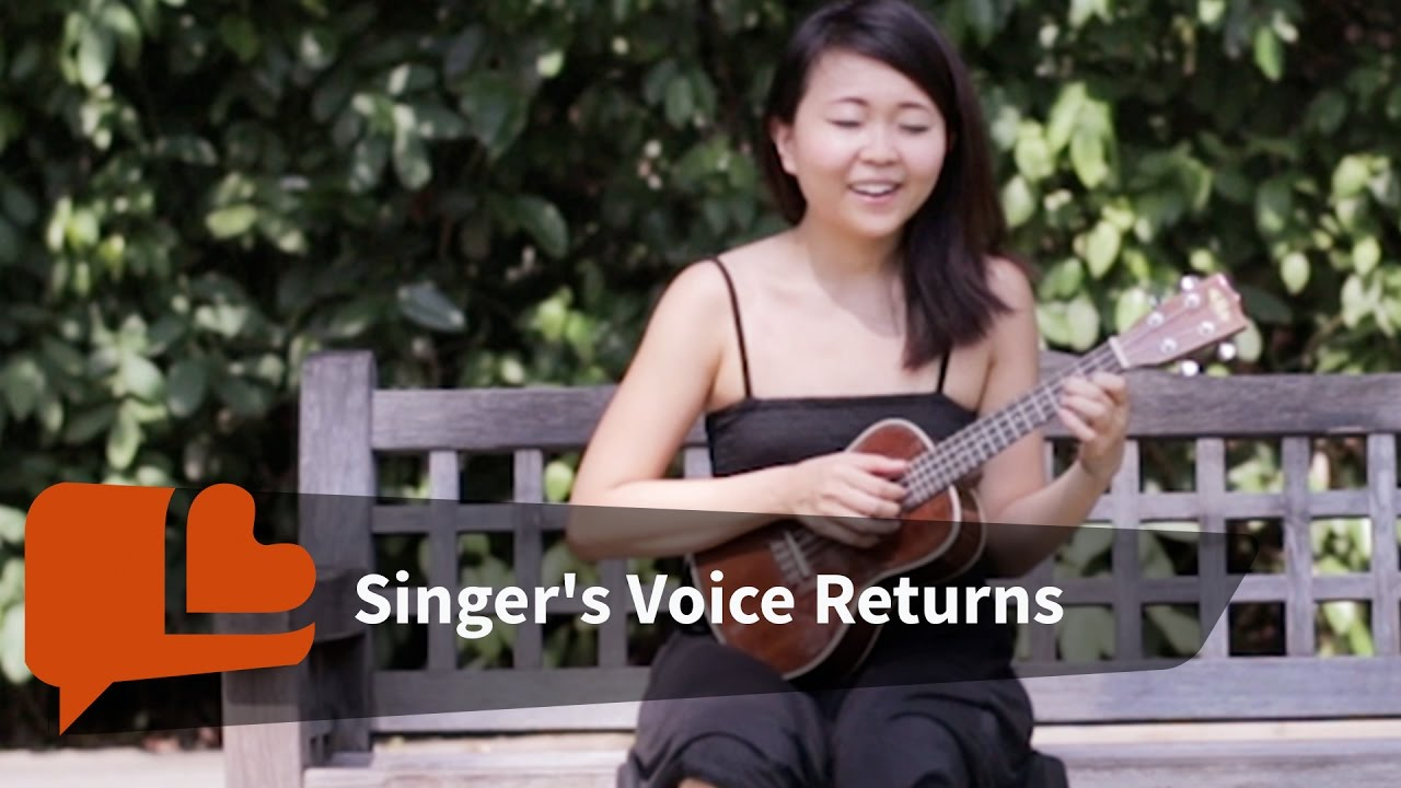 Singer loses voice and finds her song youtube