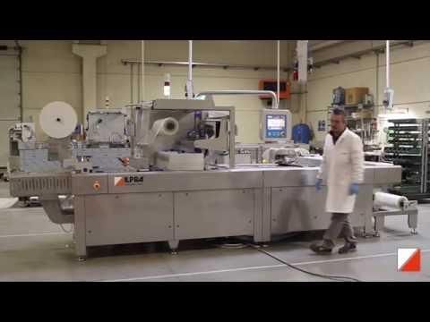 Термоформер Formpack F5  Блоки сыра в термоусадочную пленку