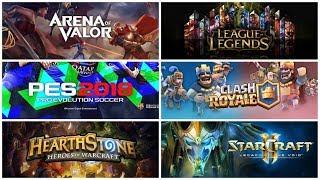 Mengapa Enam Games Ini yang Masuk Asian Games? Mengapa Bukan Mobile Legends, DoTA 2, dan FIFA?