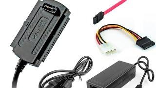 Adaptador USB a Sata Ide - Unboxing