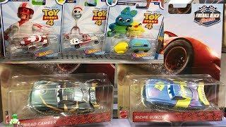 New Disney Cars Toy Hunt Fireball Beach Racers Diecast Toy Story 4 Hot wheels  Lion King Aladdin