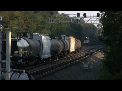 Altoona PA 07.22.12: Every Driver's Nightmare, Every Railfan's Dream