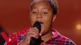 Bob Marley Redemption Song Mélia The Voice Kids France 2018 Blind Audition